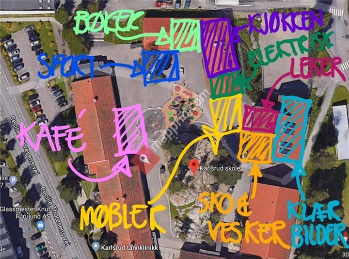 Loppemarked Karlsrud skoles musikkorps