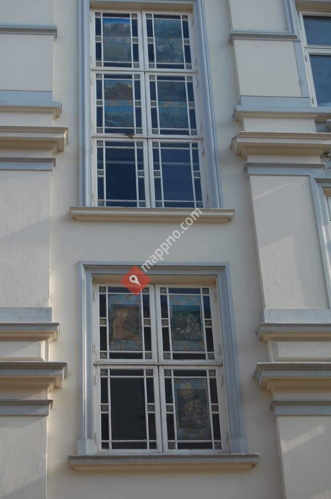 Nydelig fasade i Dalsbergstien