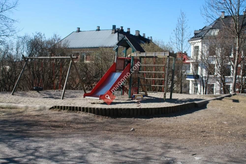 Park ved Portnerboligen naturbarnehage