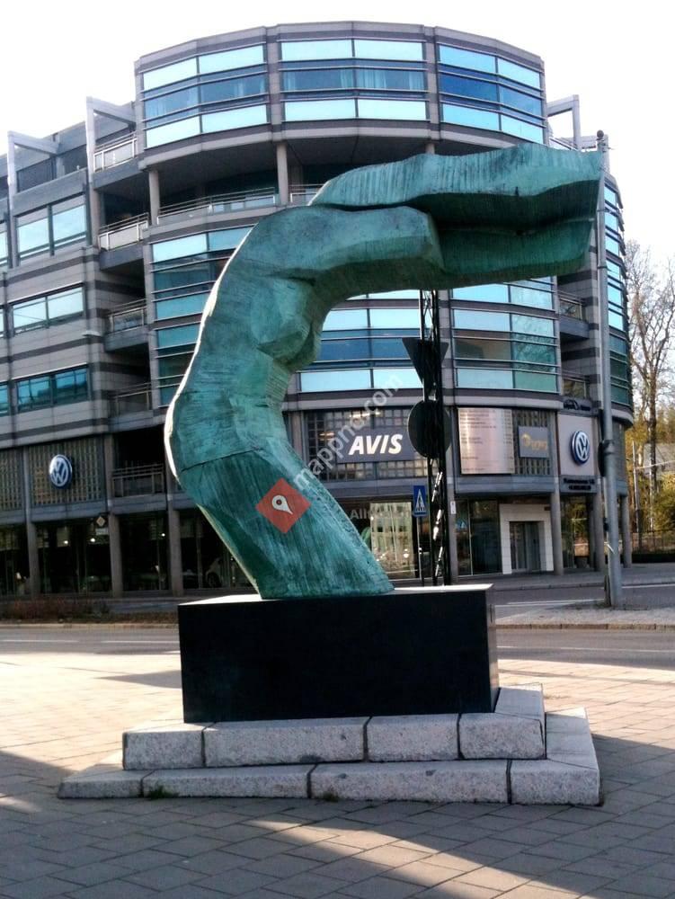 Skulpturen på Thune